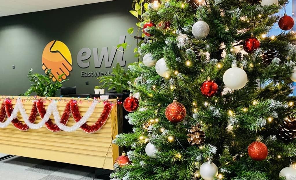 Wesołych Świąt życzy agencja pracy EWL