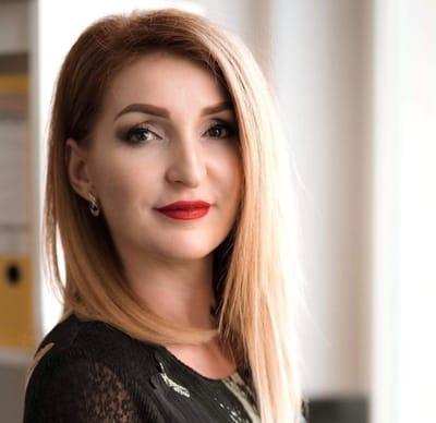 Mariana Semeniuk z agencji zatrudnienia EWL